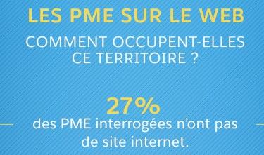 INFOGRAPHIE : Les PME à la traîne sur le web